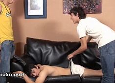 Gay Latino Guys : Francoise, Ewin And Anibel - latin Smooth!